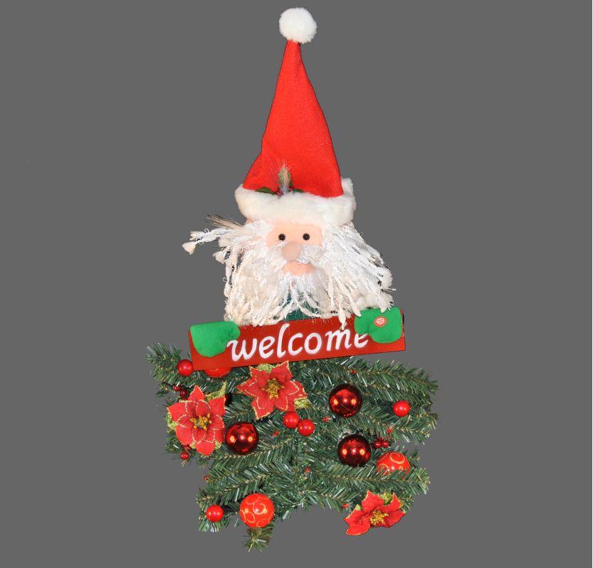 Christmas at Winterland WL-BAT/SANTA-31 31 Inch Battery Operated Santa