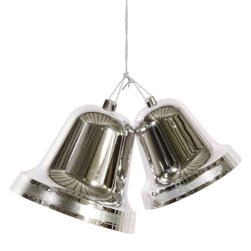 Christmas At Winterland Wl Bell 9 5 Slv Silver 95 Inch