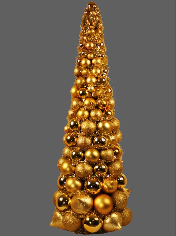 Christmas At Winterland Wl Btr 36 Go Gold 3 Foot Gold