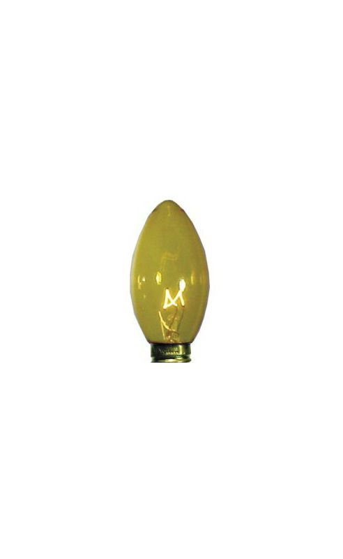 Christmas at Winterland WL-C9-Y Yellow/Gold Dimmable C9 E17 Base