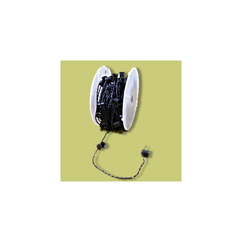 Christmas at Winterland WL-E26-24B Socketed Cord Set E26 Sockets
