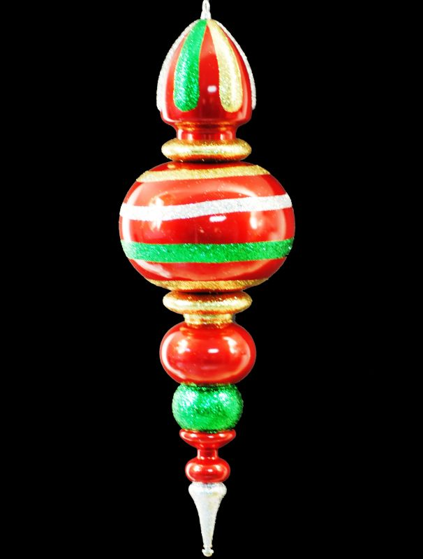 Christmas at Winterland WL-FIN-31-GRG 31 Inch Green Red and Gold Sale $140.92 ITEM: bci2045446 ID#:WL-FIN-31-GRG :