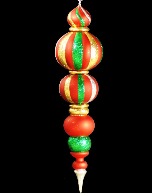 Christmas at Winterland WL-FIN-48-GRG 48 Inch Green Red and Gold Sale $168.95 ITEM: bci2045454 ID#:WL-FIN-48-GRG :