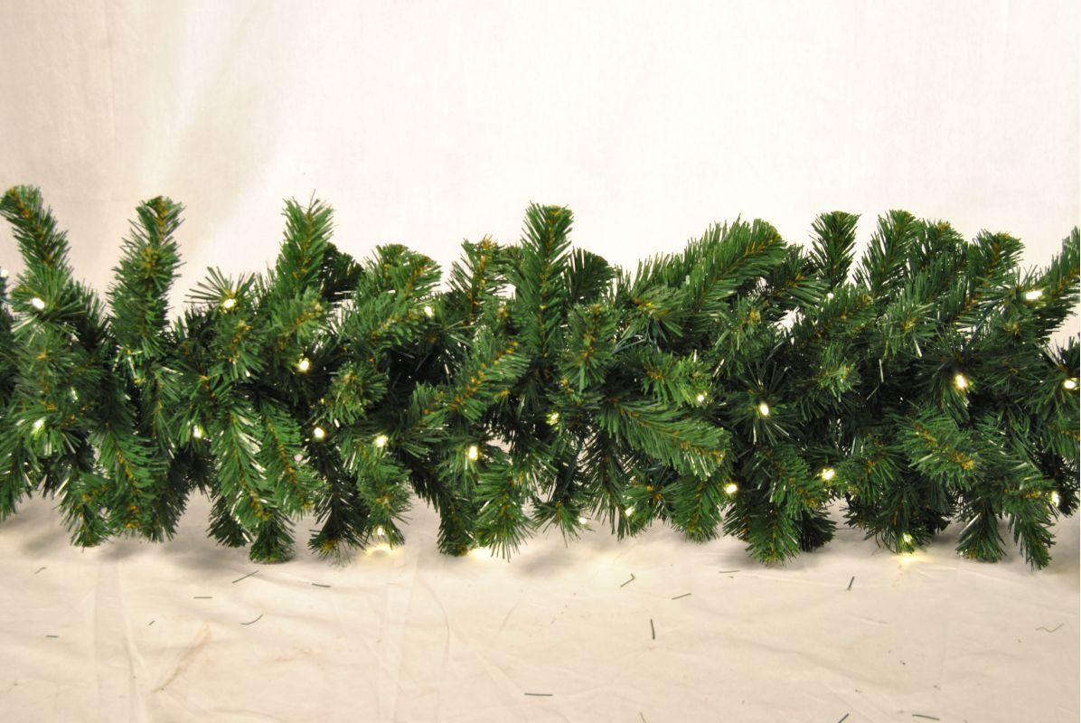 Christmas at Winterland WL-GARSQ-09-LWW 9 Foot Pre-Lit Warm White LED Sale $91.87 ITEM: bci2045387 ID#:WL-GARSQ-09-LWW :