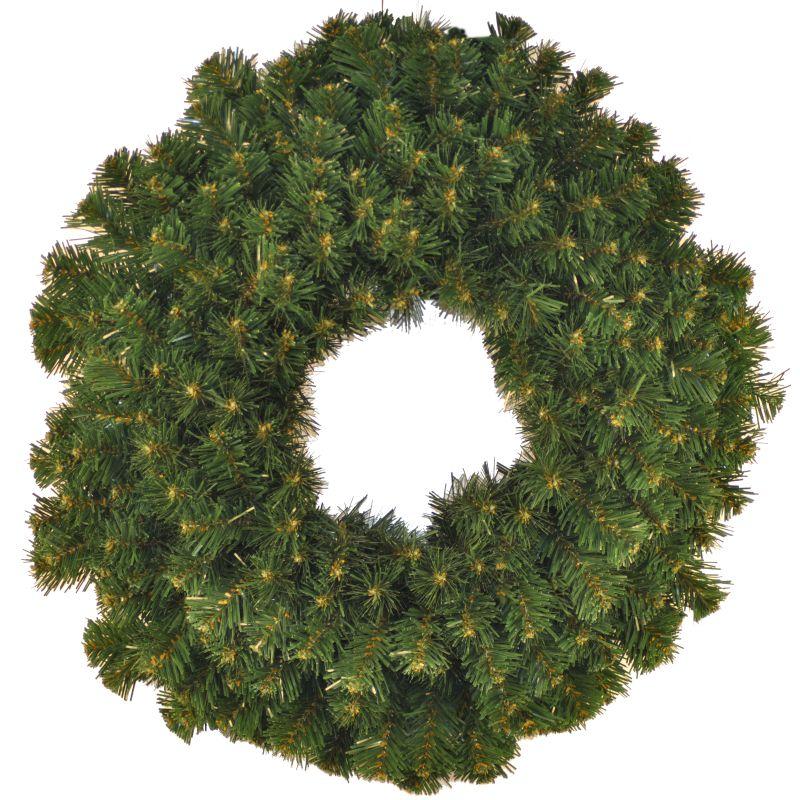 Christmas at Winterland WL-GWSQ-02 2 Foot Sequoia Wreath Green Holiday