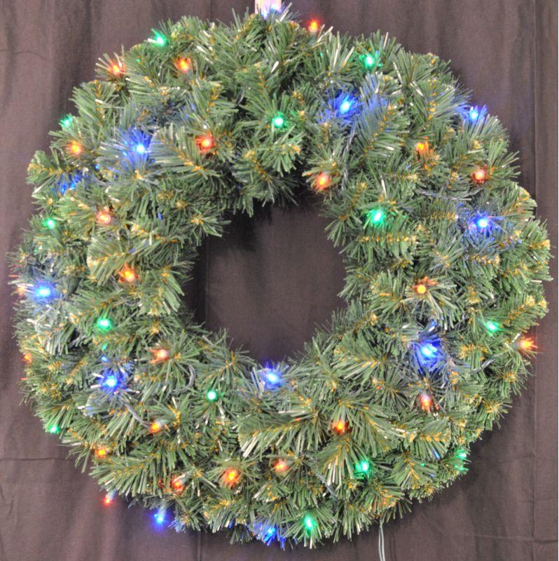 Christmas at Winterland WL-GWSQ-02-L5M 2 Foot Pre-Lit Multicolor LED