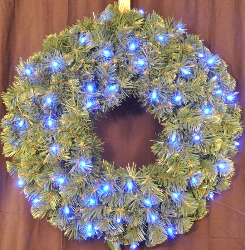 Christmas at Winterland WL-GWSQ-02-LBL 2 Foot Pre-Lit Blue LED Sequoia