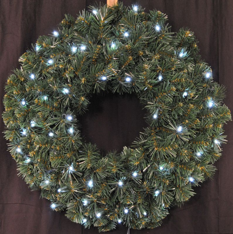 Christmas at Winterland WL-GWSQ-02-LPW 2 Foot Pre-Lit Pure White LED