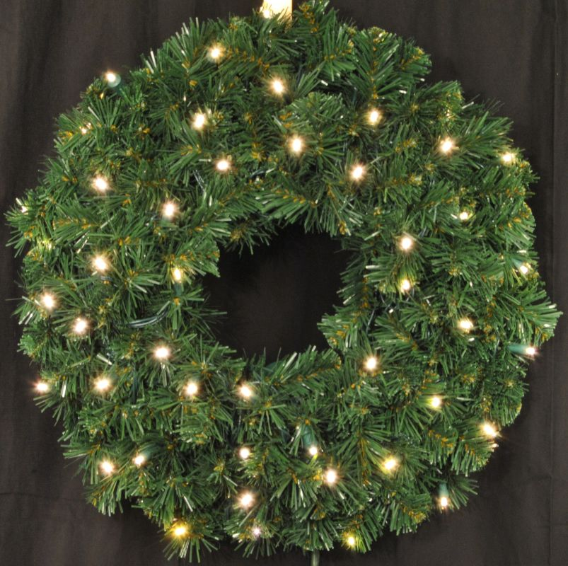 Christmas at Winterland WL-GWSQ-02-LWW 2 Foot Pre-Lit Warm White LED