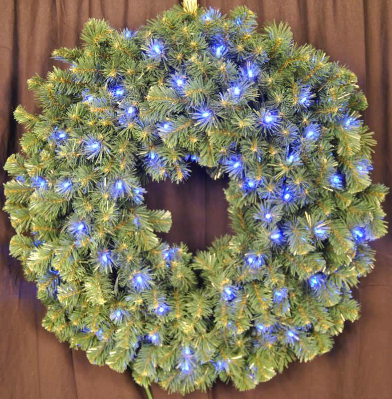 Christmas at Winterland WL-GWSQ-03-LBL 3 Foot Pre-Lit Blue LED Sequoia