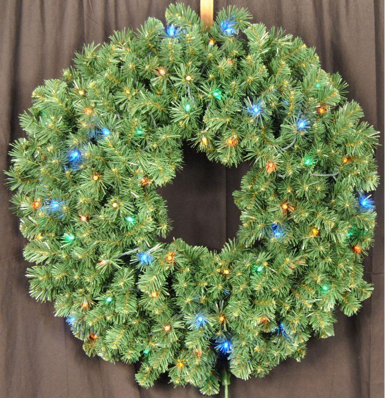 Christmas at Winterland WL-GWSQ-04-L5M 4 Foot Pre-Lit Multicolor LED