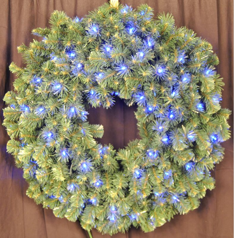 Christmas at Winterland WL-GWSQ-04-LBL 4 Foot Pre-Lit Blue LED Sequoia