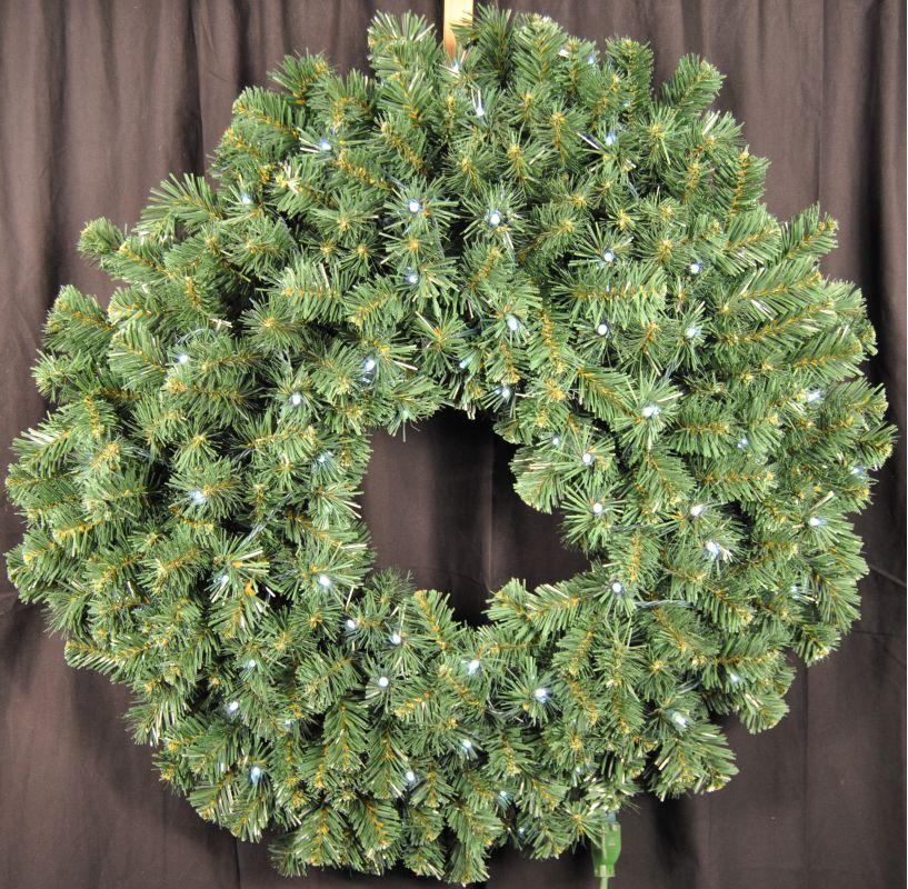 Christmas at Winterland WL-GWSQ-04-LPW 4 Foot Pre-Lit Pure White LED