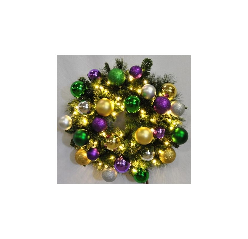Christmas at Winterland WL-GWSQ-04-MARDI-LWW 4 Foot Pre-Lit Warm White