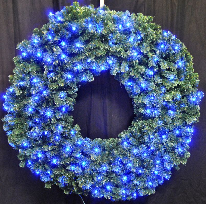 Christmas at Winterland WL-GWSQ-05-LBL 5 Foot Pre-Lit Blue LED Sequoia