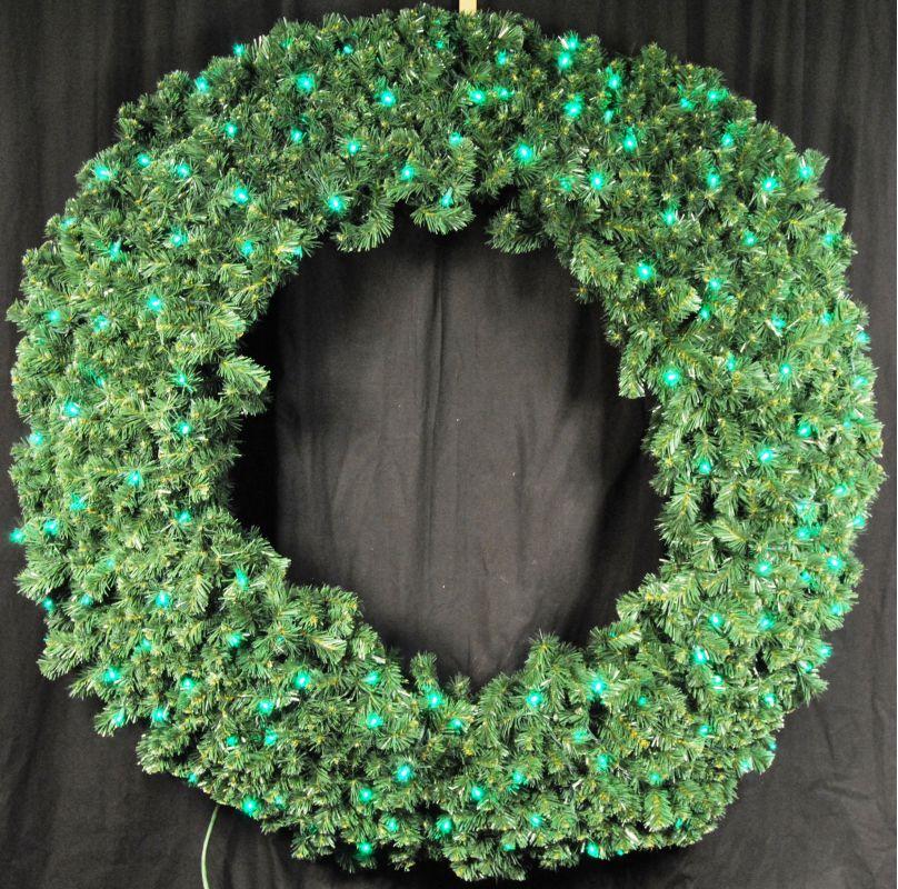 Christmas at Winterland WL-GWSQ-05-LGR 5 Foot Pre-Lit Green LED
