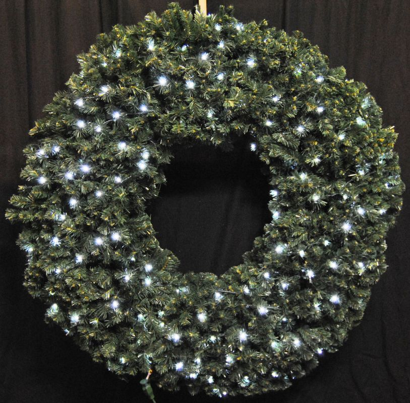 Christmas at Winterland WL-GWSQ-05-LPW 5 Foot Pre-Lit Pure White LED