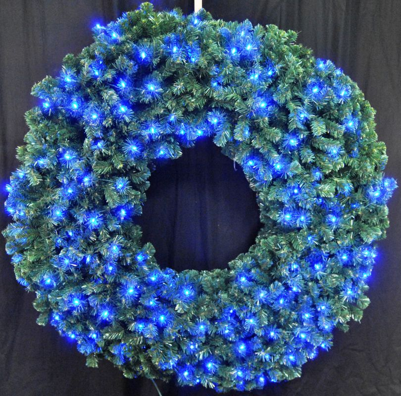 Christmas at Winterland WL-GWSQ-06-LBL 6 Foot Pre-Lit Blue LED Sequoia