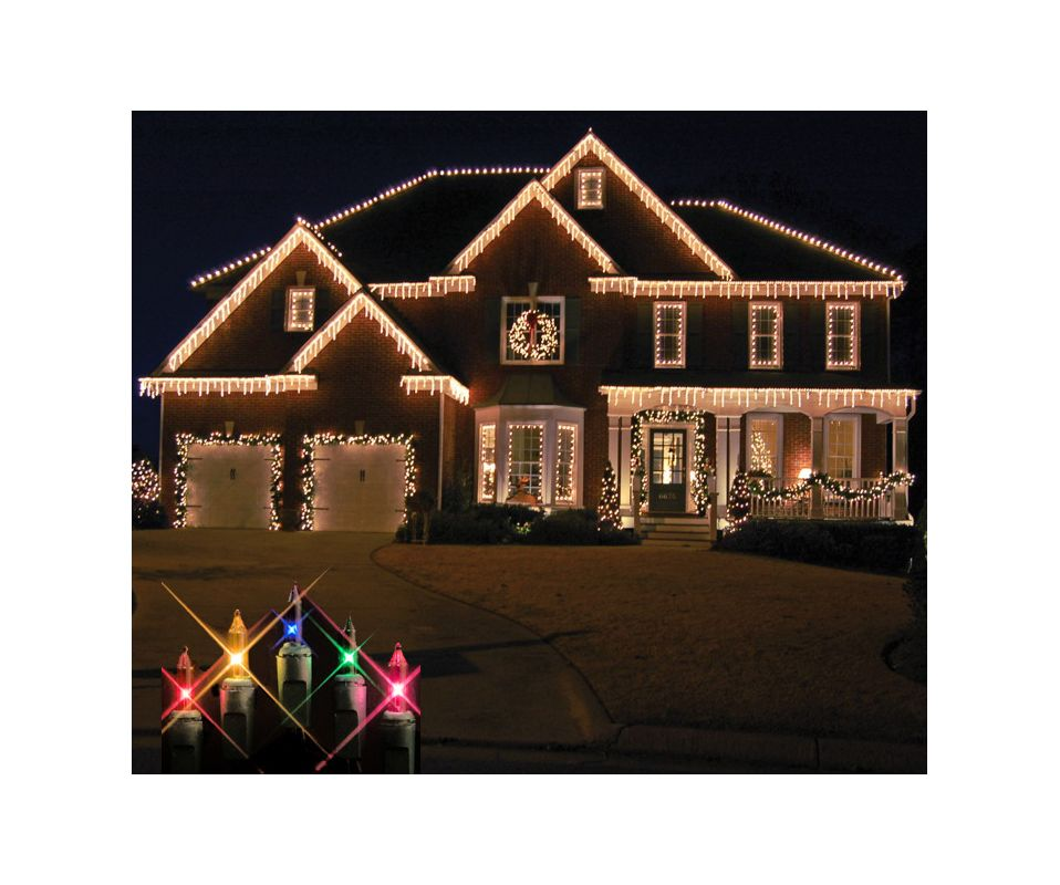 Christmas at Winterland WL-IC100-M 100 Light Incandescent Multicolor