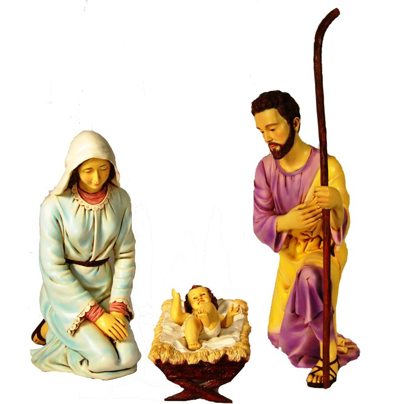 Christmas at Winterland WL-NATIVITY-CL 3 Piece 38.75 Inch Pre-Painted Sale $1000.71 ITEM: bci2045290 ID#:WL-NATIVITY-CL :