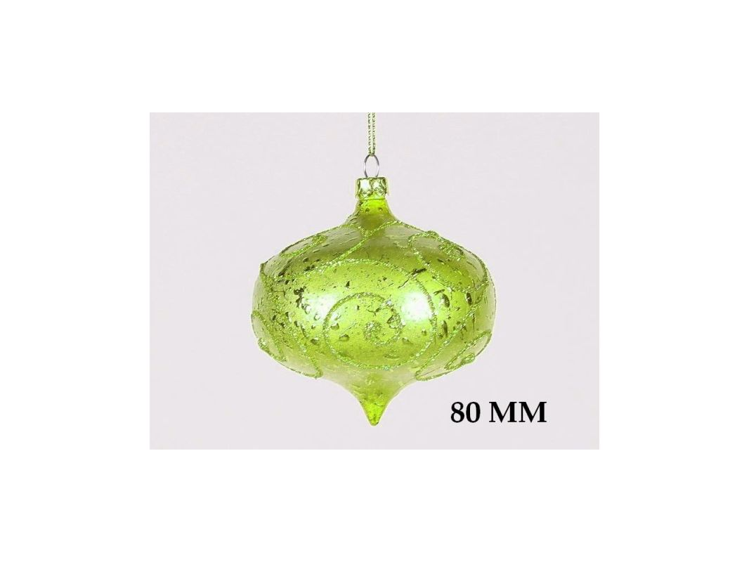 Christmas at Winterland WL-ONION-80-LG 3 Inch Onion Ornament Green