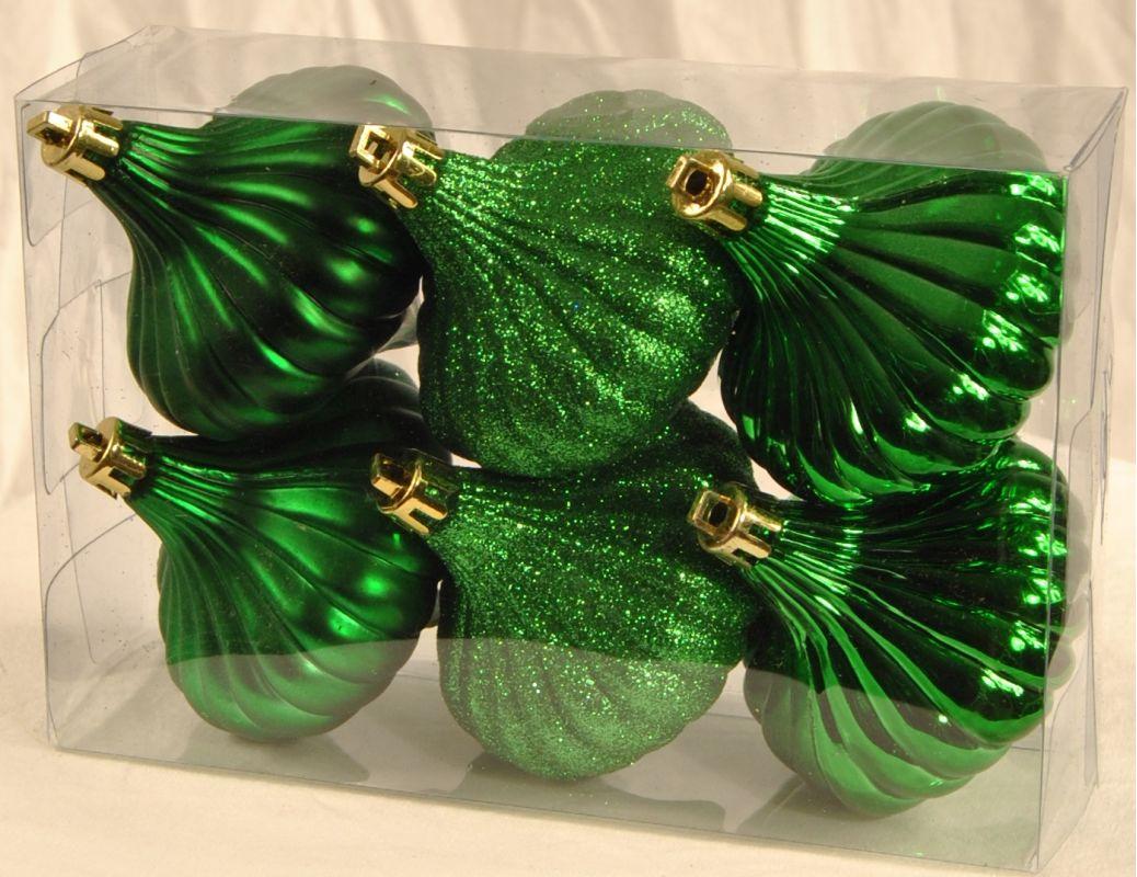 Christmas at Winterland WL-ONION-R-6PK-GR 6 Green Ridged Onion