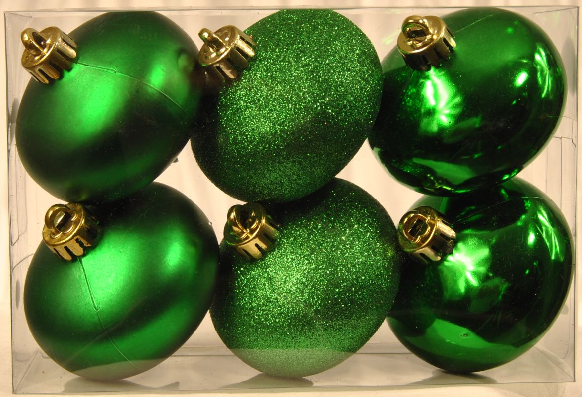 Christmas at Winterland WL-ONION-S-6PK-GR 6 Green Smooth Onion