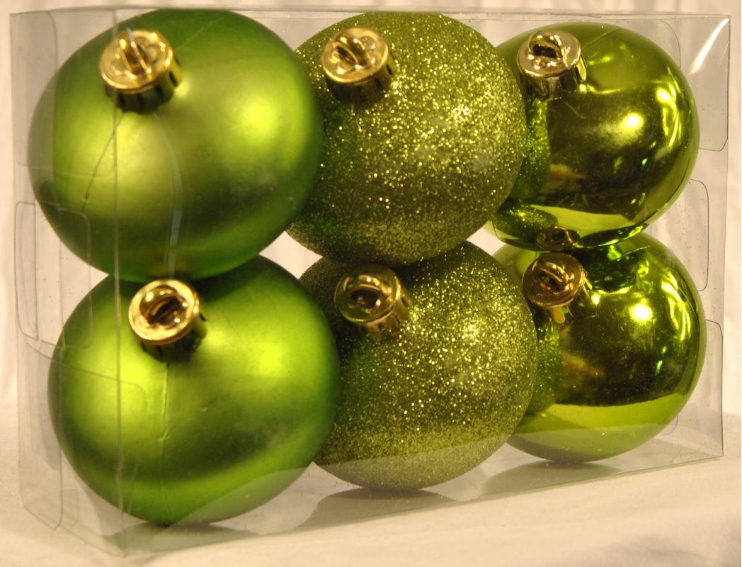 Christmas at Winterland WL-ONION-S-6PK-LG 6 Lime Green Smooth Onion