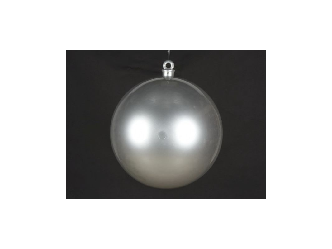 Christmas at Winterland WL-ORN-BALL-600-SLV 23.6 Inch Ball Ornament