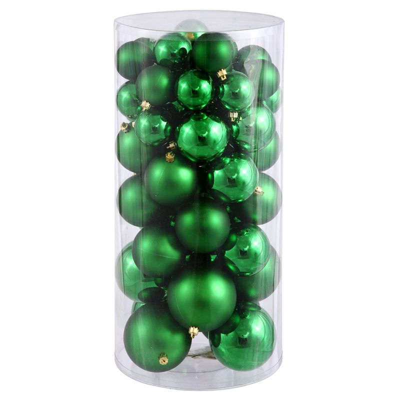Christmas at Winterland WL-ORNTUBE-60-GR 1.5-Inch Plastic Shatterproof Sale $50.40 ITEM: bci2044551 ID#:WL-ORNTUBE-60-GR :