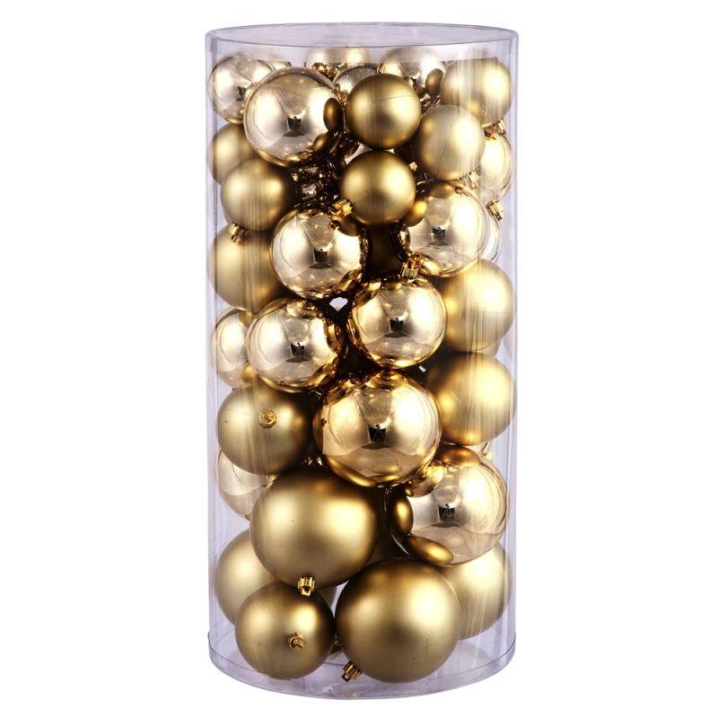 Christmas at Winterland WL-ORNTUBE-80-GO 3-Inch Plastic Shatterproof Sale $104.02 ITEM: bci2044578 ID#:WL-ORNTUBE-80-GO :