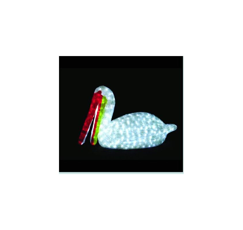 Christmas at Winterland WL-PLCN-03 LED Light Pelican Indoor / Outdoor
