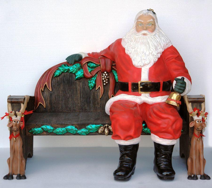 Christmas Decorations Life Size Santa: Christmas At Winterland WL-SANTA-SITTING Multicolor 5 Foot