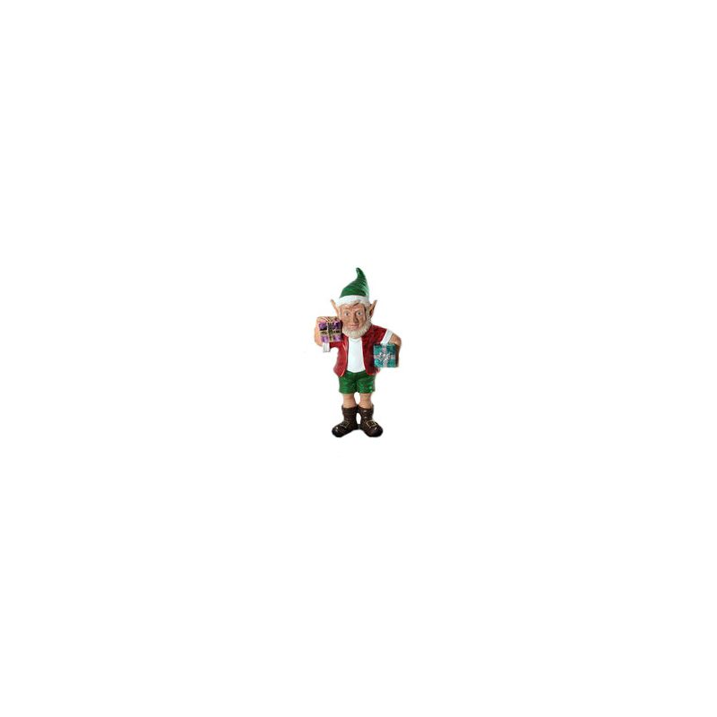 Christmas at Winterland WL-ELF-2G-02 24 Inch Christmas Elf Figurine