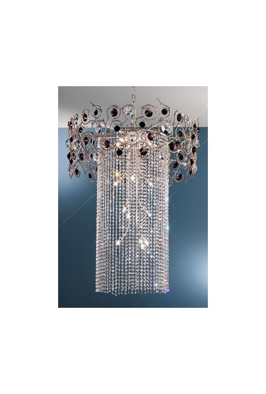 "Classic Lighting 10035-SF 36"" Crystal Chandelier from the Foresta"