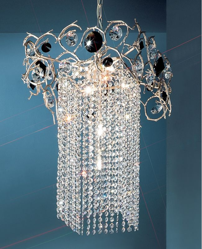 "Classic Lighting 10036-SF 20"" Crystal Mini-Chandelier from the Foresta"