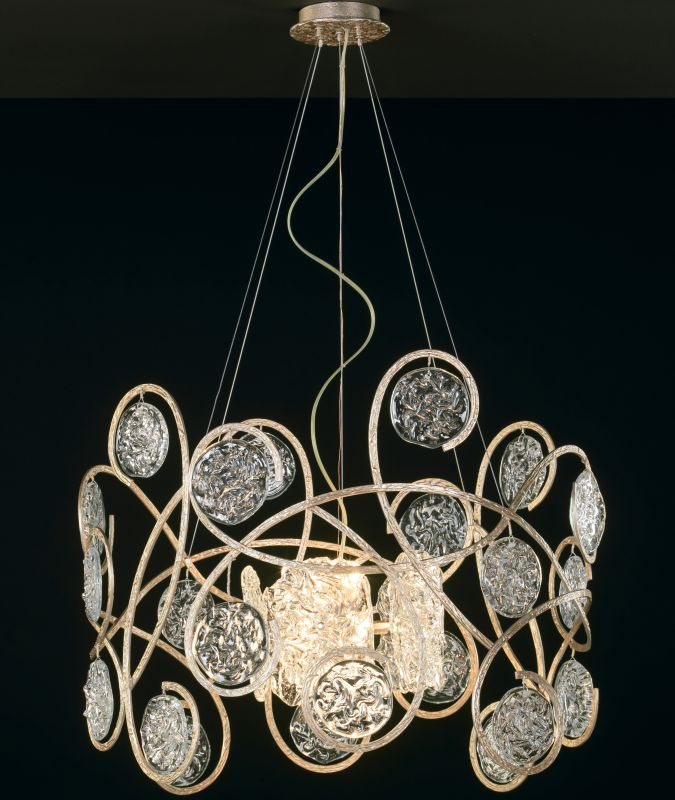 "Classic Lighting 10045 22"" Artistic Chandelier from the Celeste"