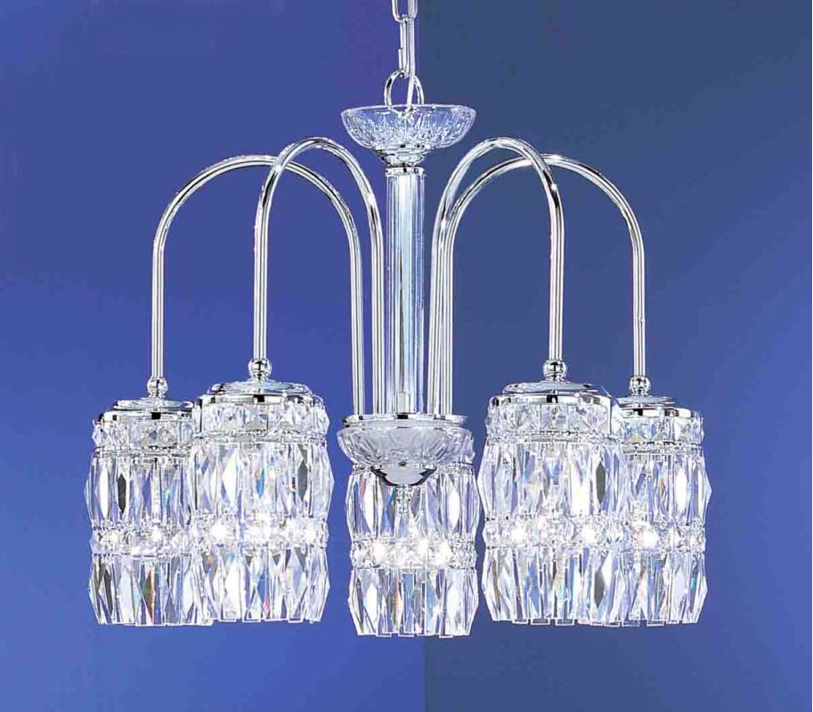 "Classic Lighting 1085-CH 18"" Crystal Chandelier from the Cascade"