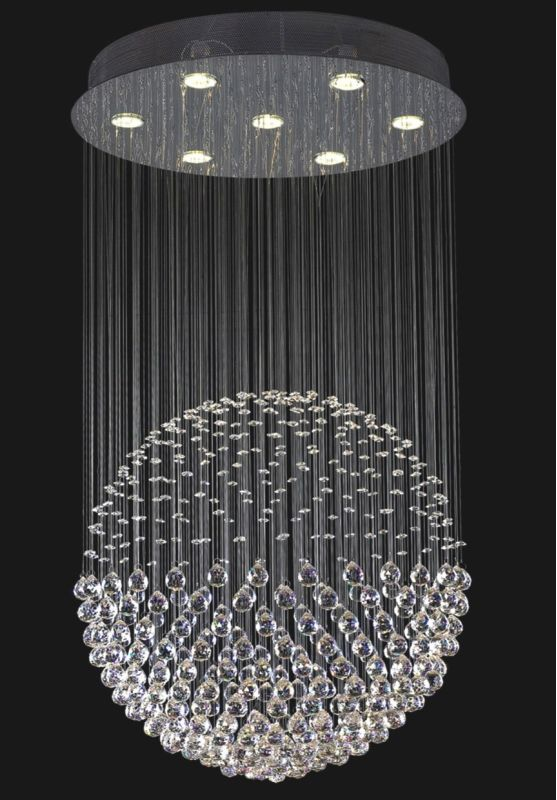 "Classic Lighting 16007-CH 43"" Crystal Chandelier from the Corpi"
