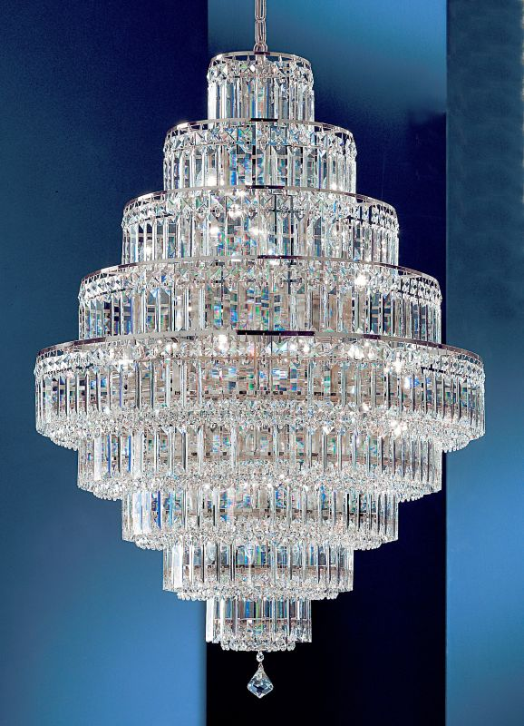 "Classic Lighting 1604-CH 41"" Crystal Chandelier from the Ambassador"