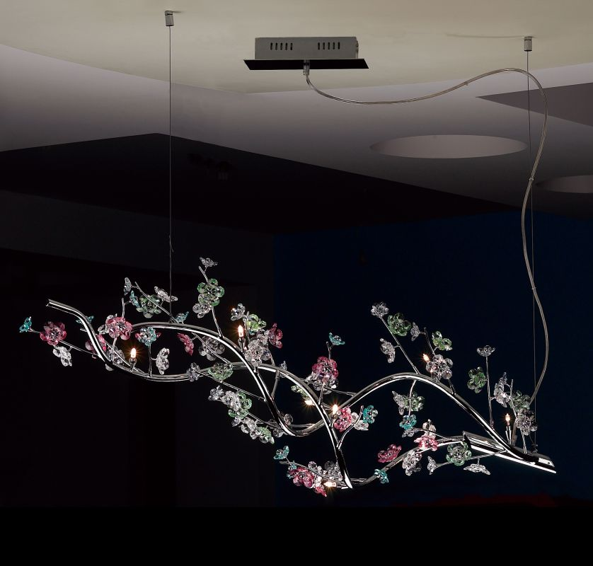 """Classic Lighting 16059-CH 16"""" Crystal Chandelier from the Ashley"""