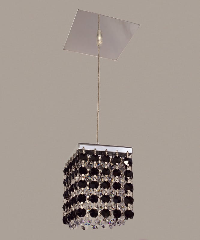 Classic Lighting 16101-CH Bedazzle 1 Light Pendant with Crystal Sale $196.20 ITEM: bci1300416 ID#:16101 BLK-CP UPC: 729587337605 :