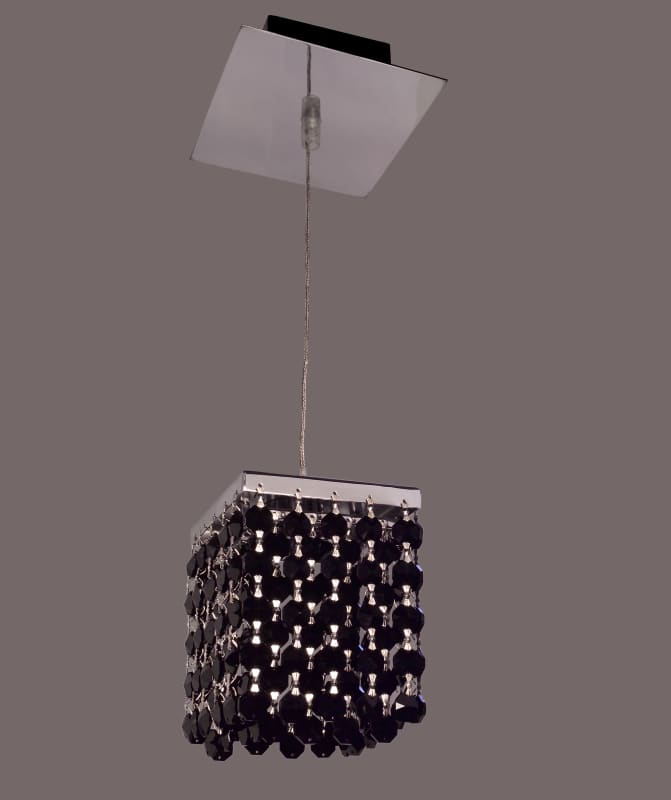 Classic Lighting 16101-CH Bedazzle 1 Light Pendant with Crystal Sale $208.80 ITEM: bci1300954 ID#:16101 BLK UPC: 729587337599 :