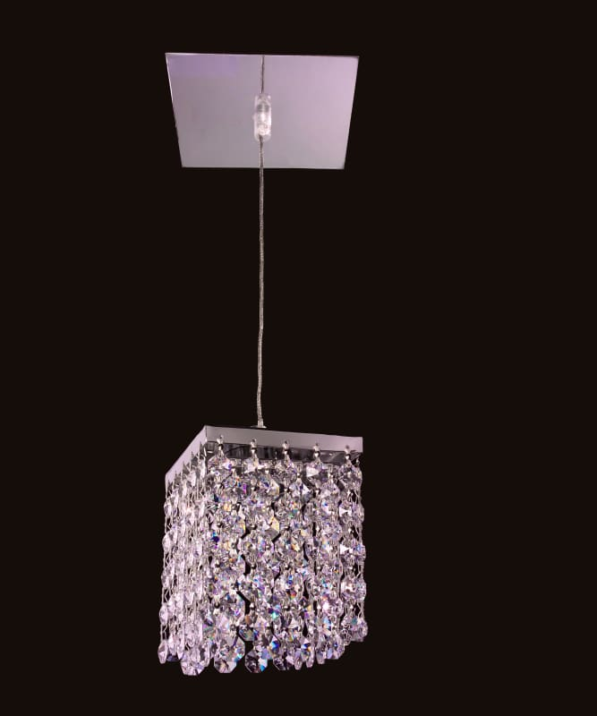 Classic Lighting 16101-CH Bedazzle 1 Light Pendant with Crystal Sale $367.20 ITEM: bci1302058 ID#:16101 S UPC: 729587337674 :