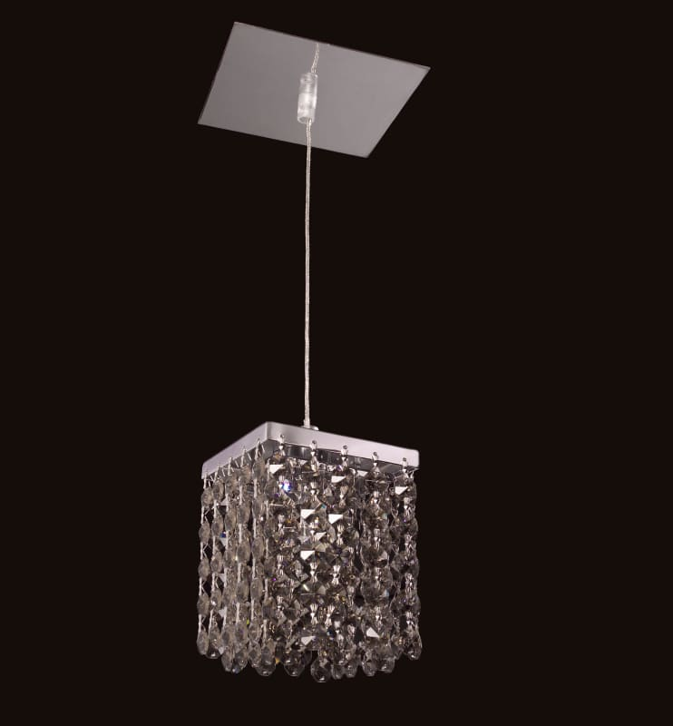 Classic Lighting 16101-CH Bedazzle 1 Light Pendant with Crystal Sale $208.80 ITEM: bci1300958 ID#:16101 SMK UPC: 729587337940 :