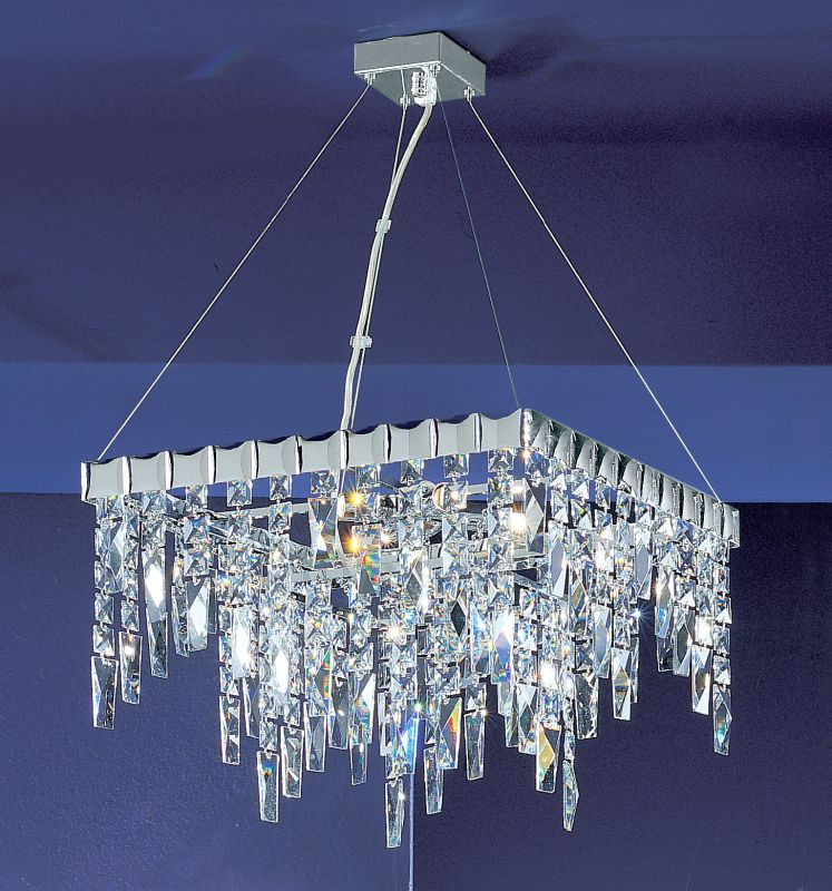 "Classic Lighting 1905-CH 24"" Crystal Chandelier from the Uptown"