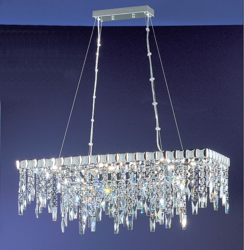 "Classic Lighting 1909-CH 24"" Crystal Chandelier from the Uptown"