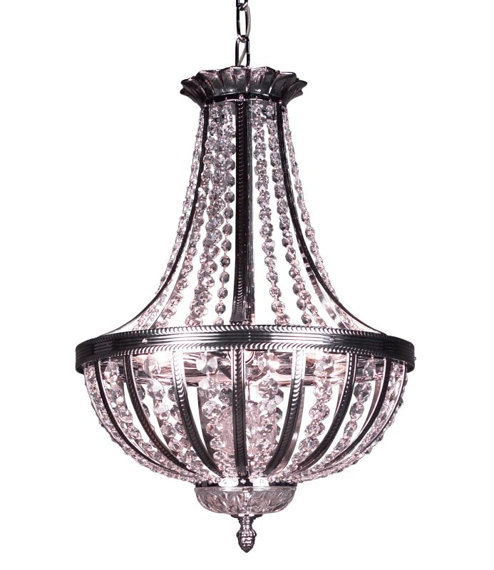 "Classic Lighting 1924-CHB 23"" Crystal Chandelier from the Terragona"