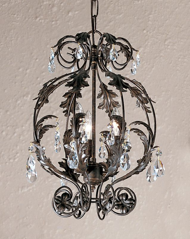 Classic Lighting 3613-EB Siena 3 Light Pendant with Clear Crystal Sale $360.00 ITEM: bci1302330 ID#:3613 EB S UPC: 729587319885 :