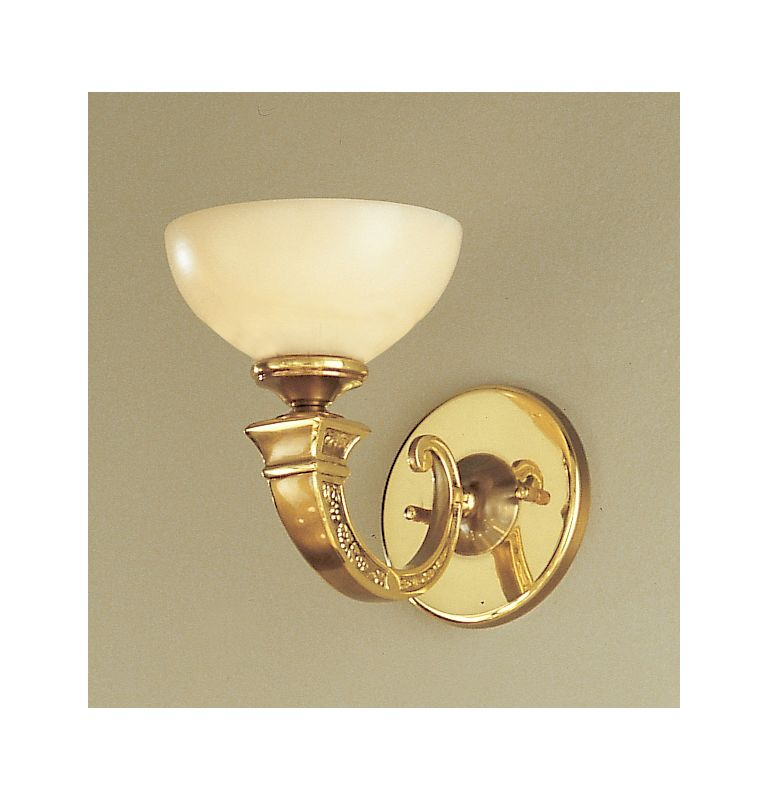 """Classic Lighting 5621 8"""" Alabaster Sconces from the Mallorca"""